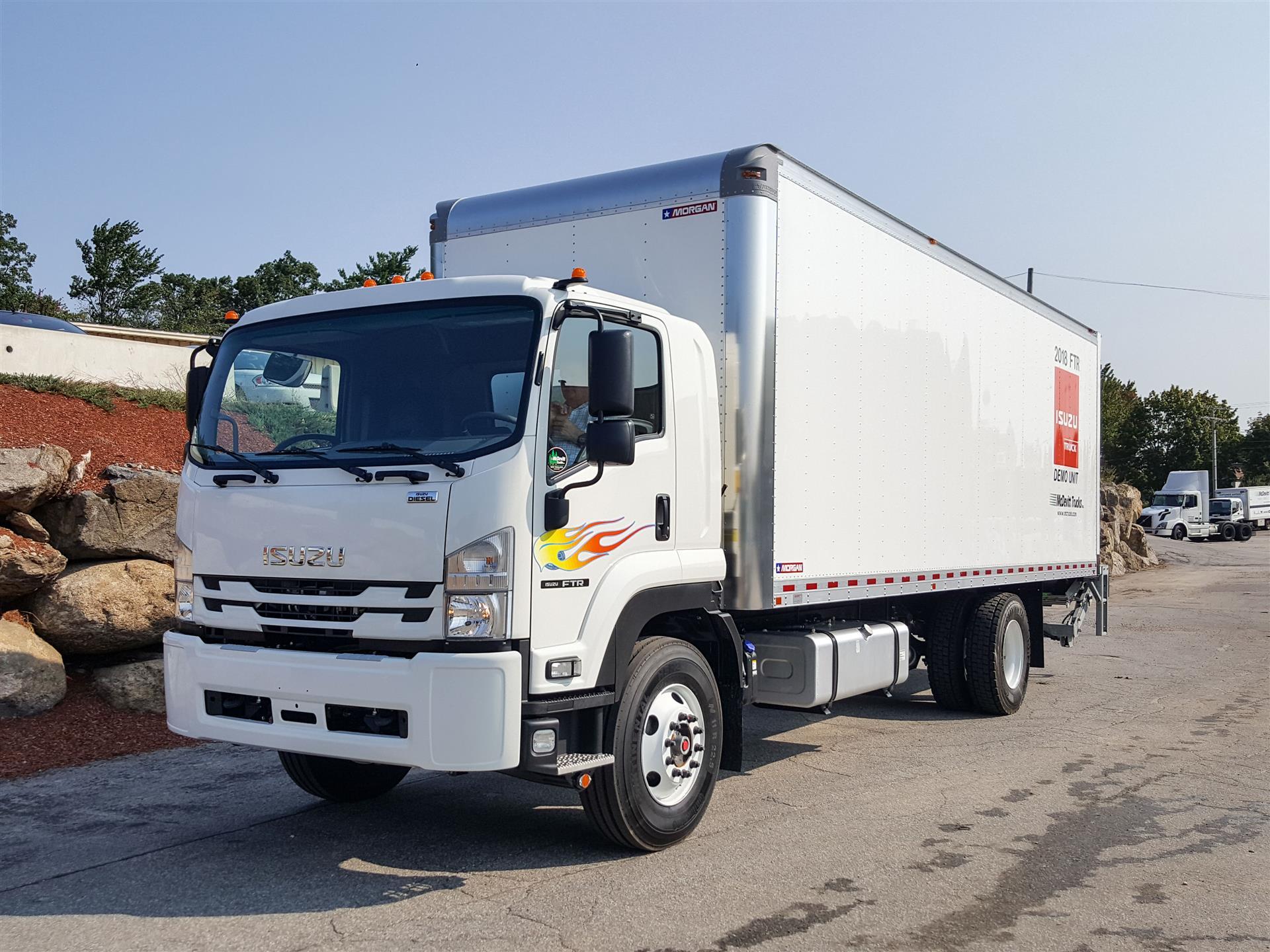 2018 Isuzu FTR BOX VAN TRUCK 540867 Box Van Truck