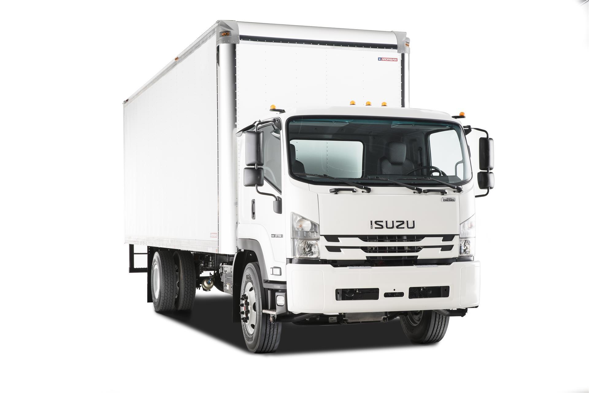 2018 Isuzu FTR Box Van Truck