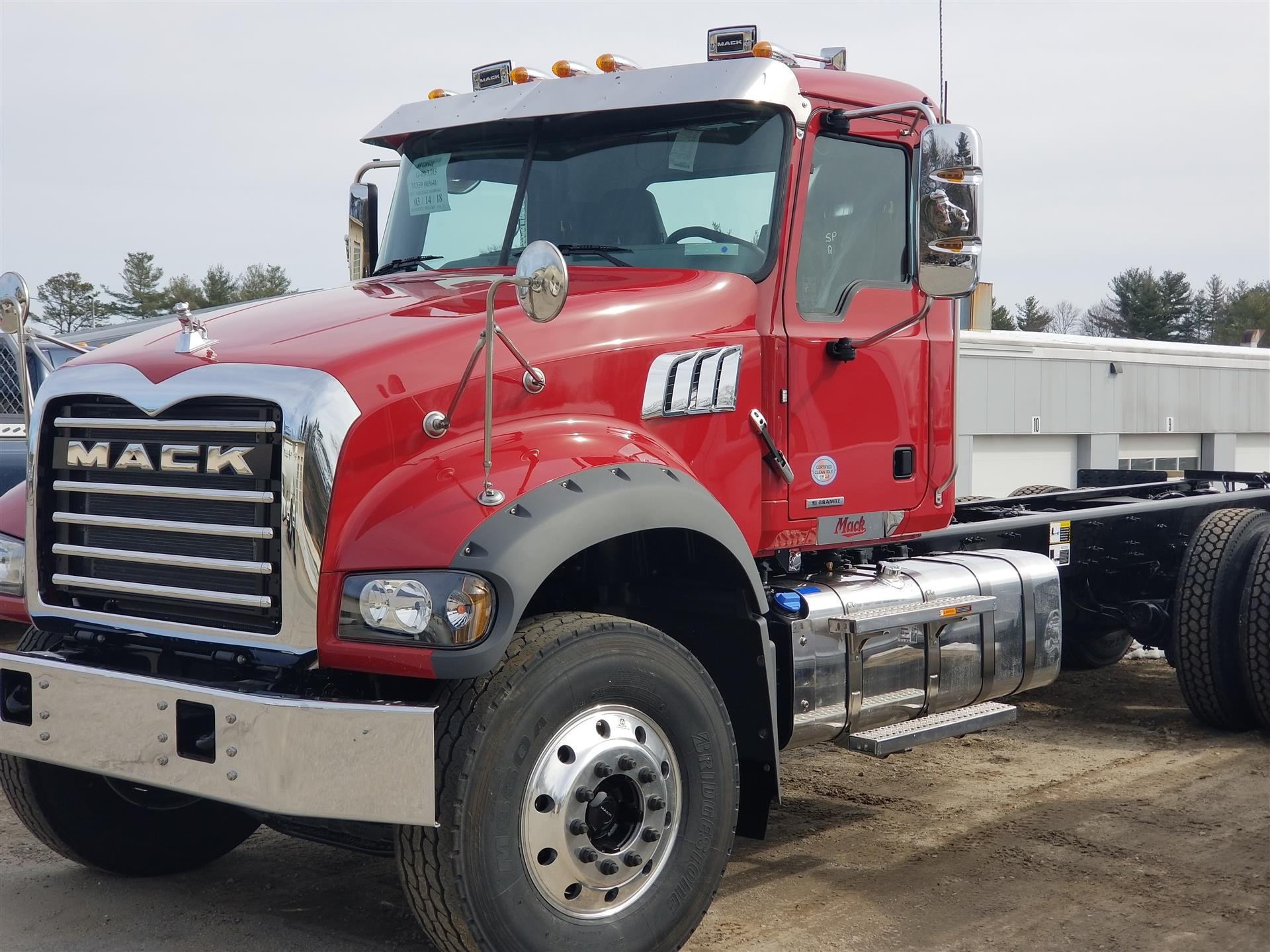 2019 Mack Granite Gu713 Cab Chassis Truck For Sale 561059