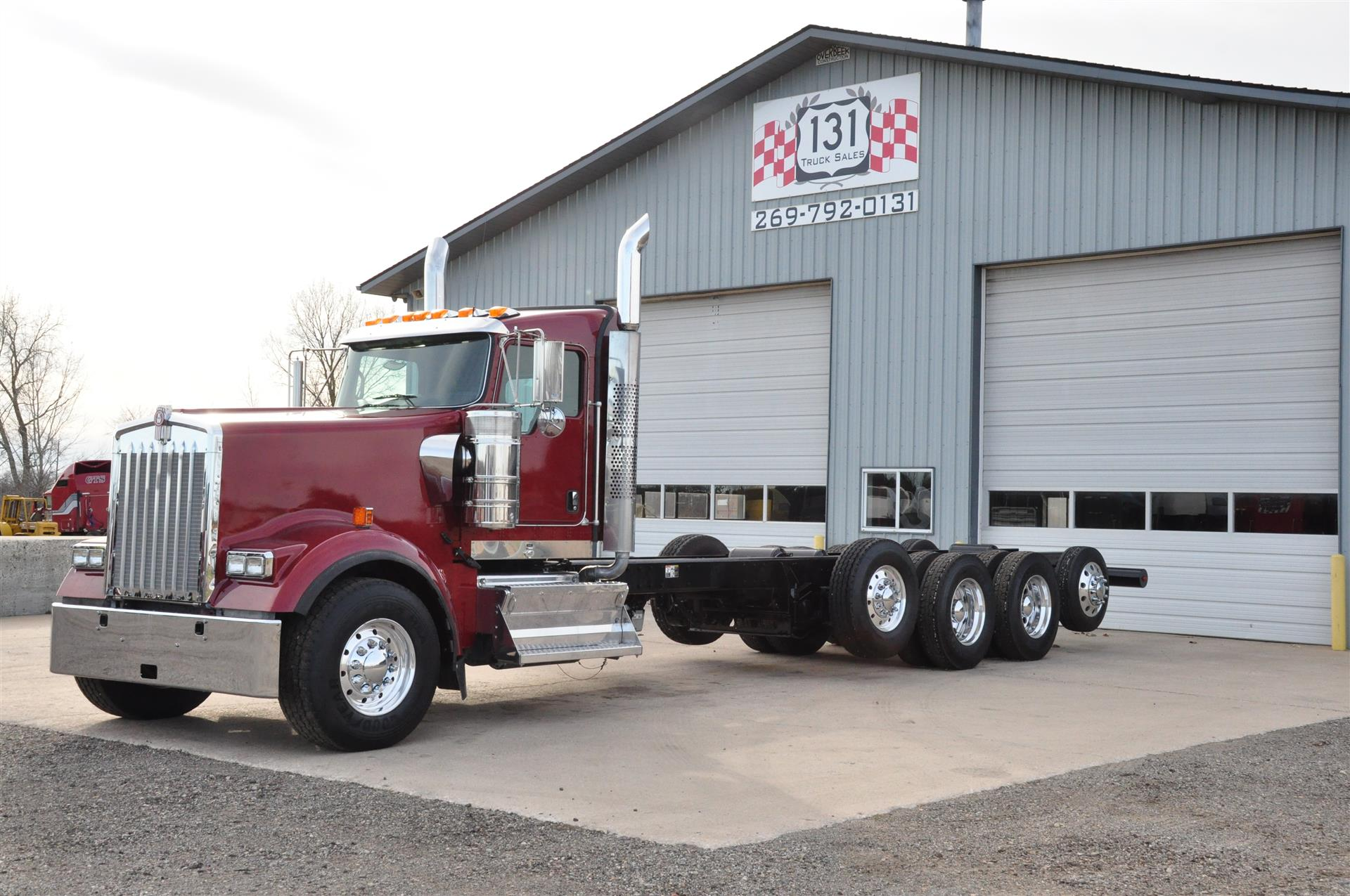 Used 2015 Kenworth W900L for Sale
