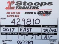 2017 East Dump Dump Trailer