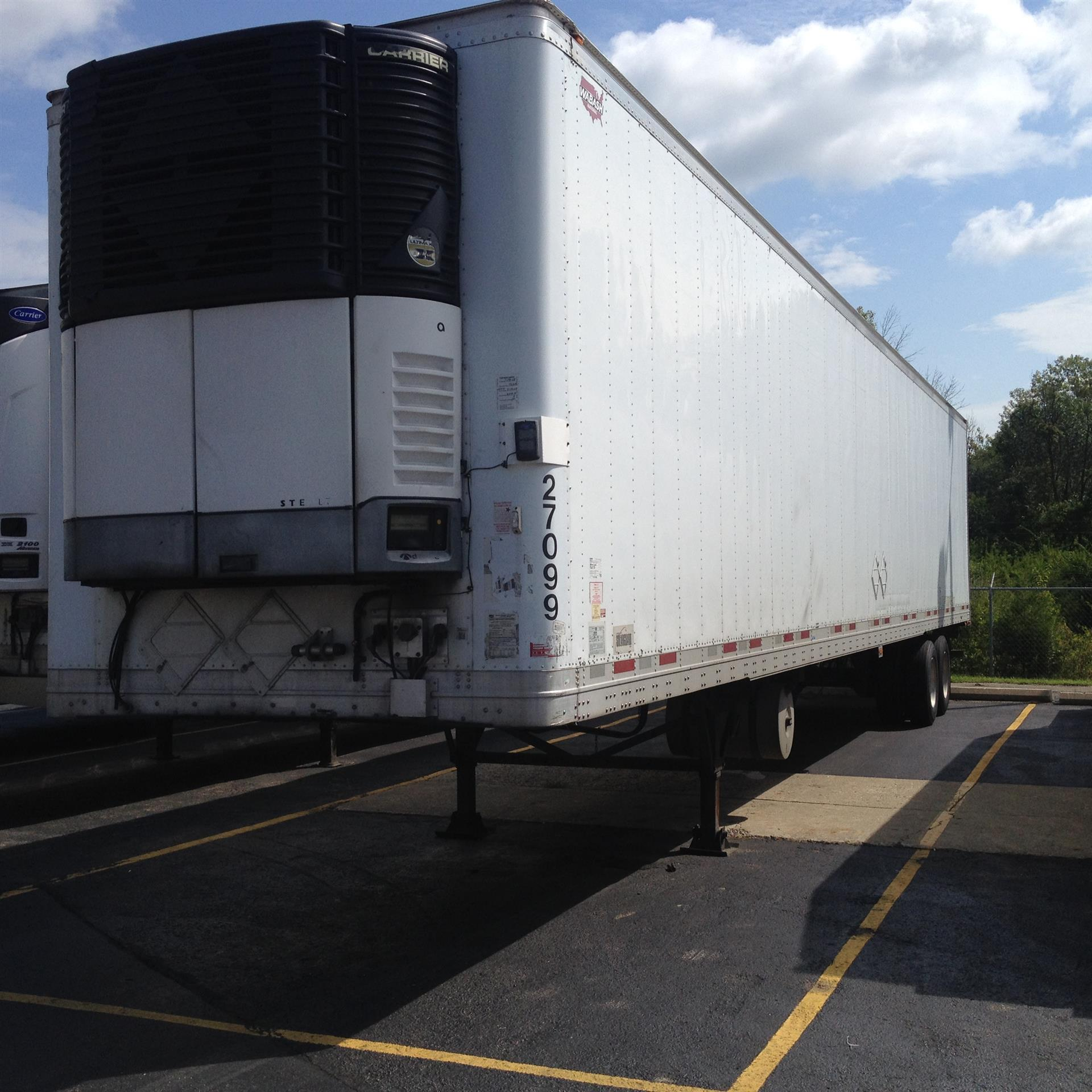 2008 Wabash REEFER Refrigerated Trailer