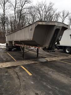 2014 East Dump Dump Trailer