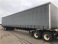 Used 2005 Transcraft 53' Curtainside for Sale