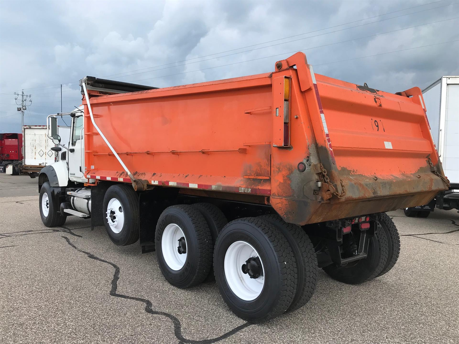 2008 Mack Granite GU713 for sale-59264603