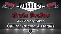 New 2017 Parkhurst Grain Body for Sale