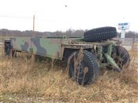 Used 2000 Military 22' Flatbed for Sale