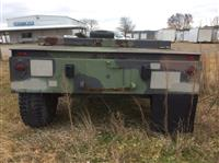 2000 Military- 22' Flatbed