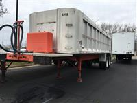 Used 1977 Benson 30' Dump Trailer for Sale