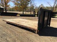 Used 2007 Robertson Truck Sales 22' Flatbed for Sale