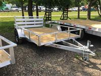 New 2017 H&H Trailers RSA 8X10F RS for Sale