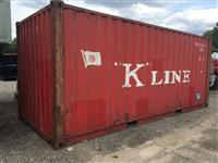 Used 2005Equipment Leasing Solutions20' Container for Sale