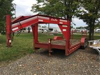 Used 2008 Corn Pro 18' Flatbed for Sale