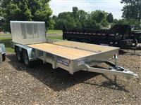 New 2018 Sure-Trac 7 x 16 Galvanized High Side, T for Sale