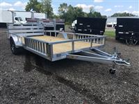 New 2019 H&H Trailers 82X14 RAILSIDE ALUM ATV 3K for Sale