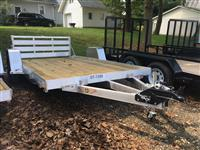 New 2019 H&H Trailers 8(76)X12 ALUM HEAVY 3K  for Sale
