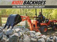 New 2018 Kioti Backhoes for Sale