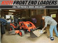 New 2018 Kioti Front End Loaders for Sale