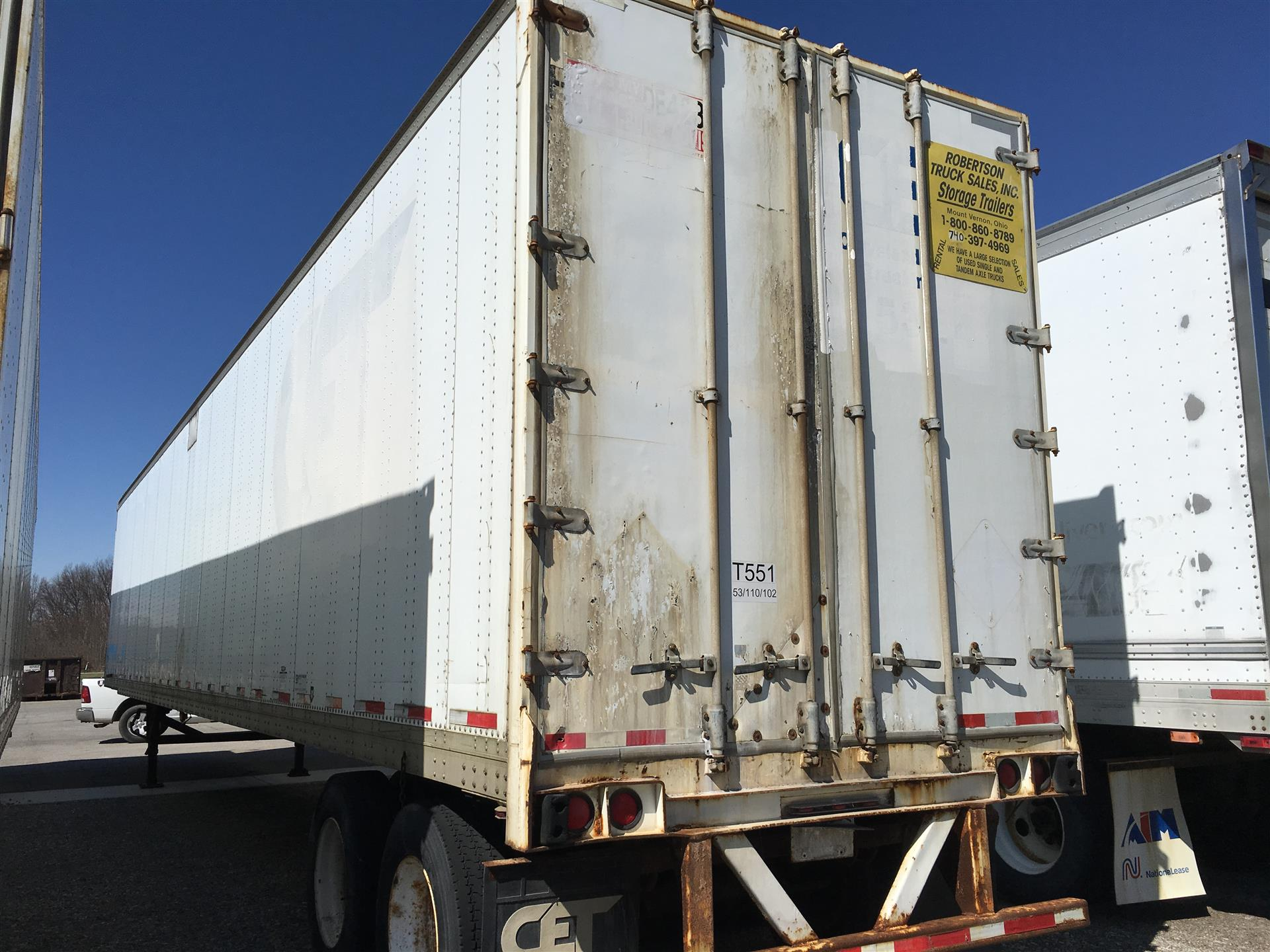 1998 Strick- 53' Trailer