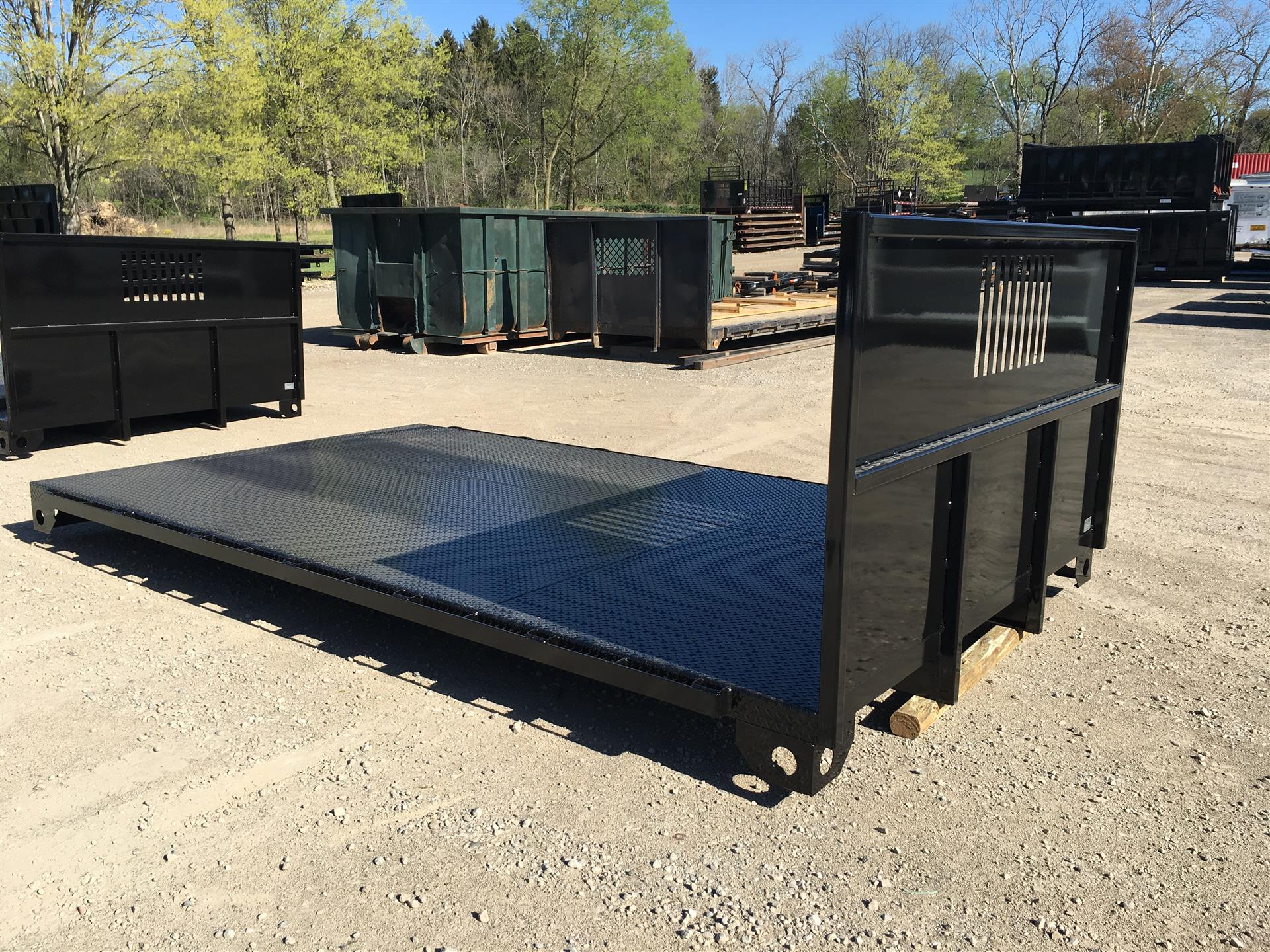2017 Knox Body 14' Flatbed