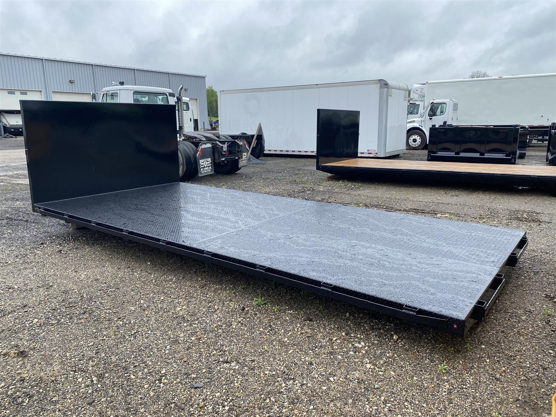 2021 Laramie Truck Bodies- 18'6'' Flatbed