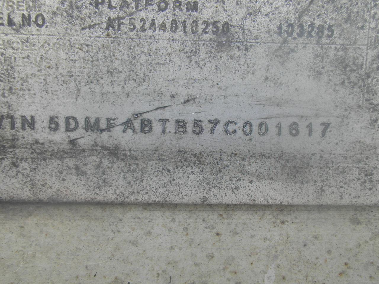 2007 BENSON    48X102 FLAT