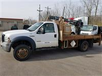 Used 2006 Ford F550 4x4 for Sale