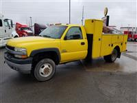 Used 2002 Chevrolet Silverado 3500 4x4 for Sale