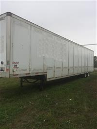 Used 2008 TrailMobile 53' Drop Deck for Sale