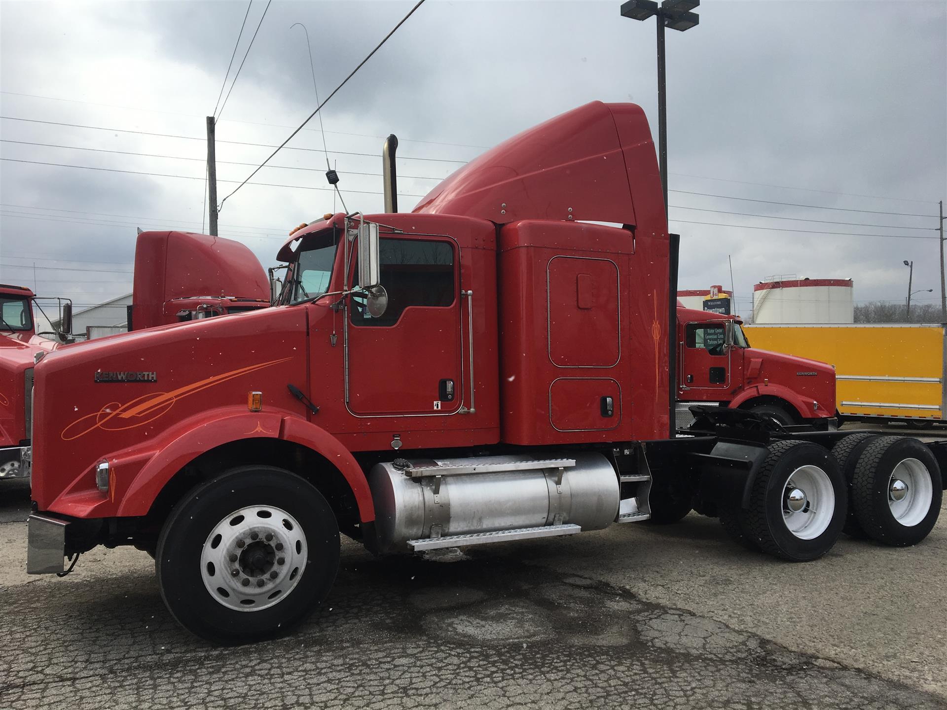 2012 Kenworth T800