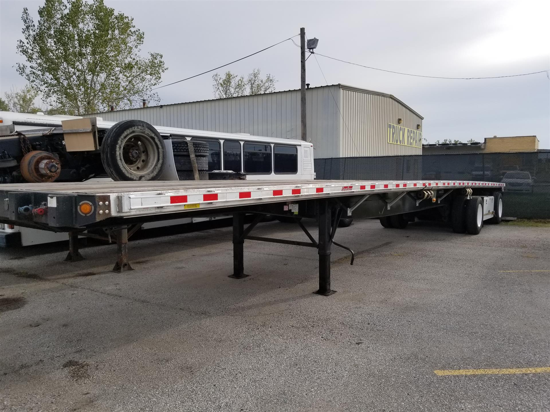 2011 Great Dane 48' Flatbed