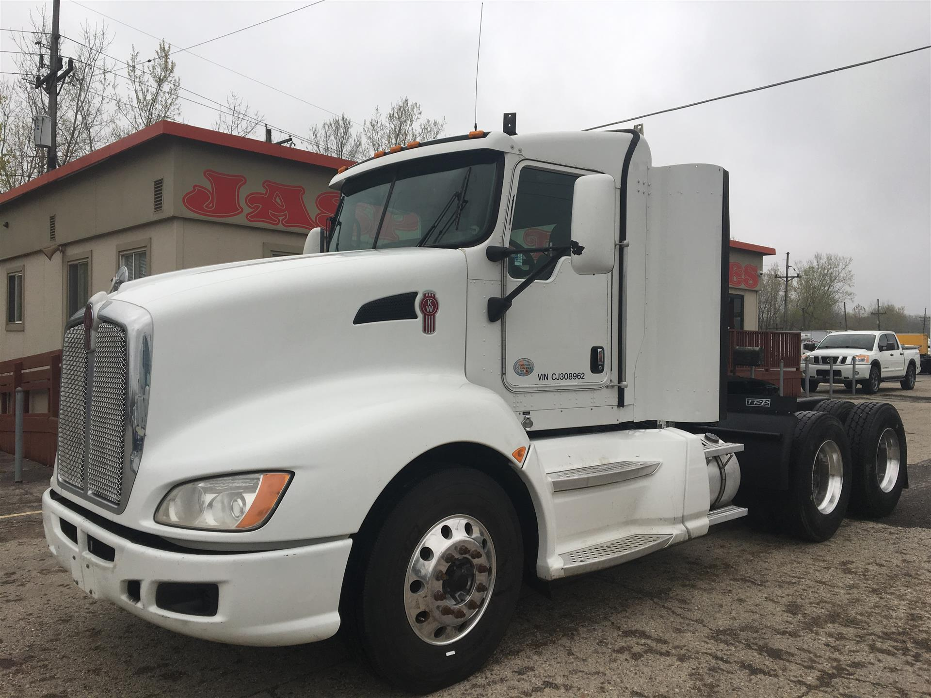 2012 Kenworth T660 Ext. Cab