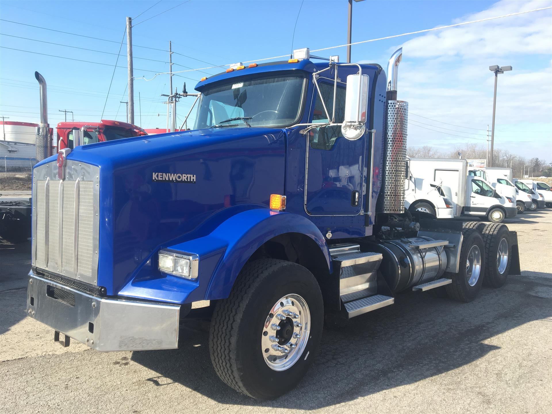 2013 Kenworth T800 Ext Cab