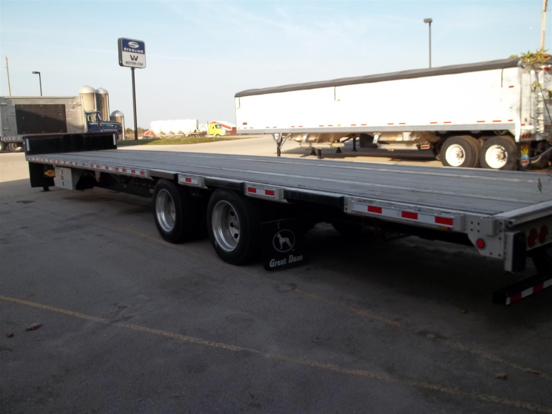 Used 2012 Great Dane DROP DECK for Sale